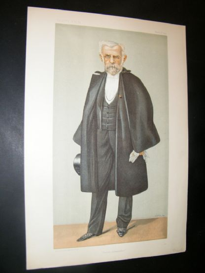 Vanity Fair Print 1899 Pierre Paul Cambon, French Ambassador | Albion Prints